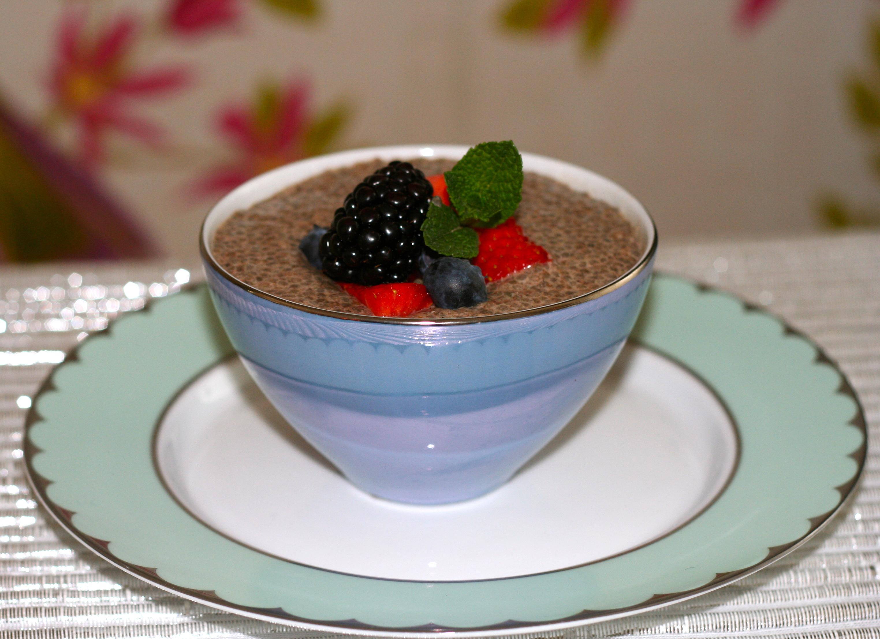 Vanilla Chia Tapioca Pudding   empoweredliving.me